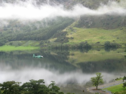 Mountain Rescue over Buttermere