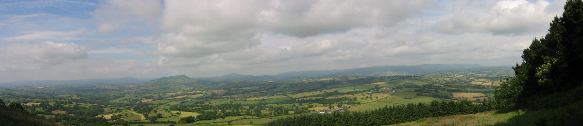View from near Graig Serrerthin